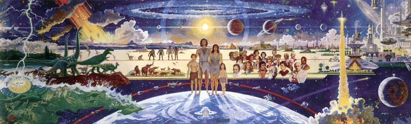 Transhuman Cosmic Conscious Evolution Cosmic Heaven